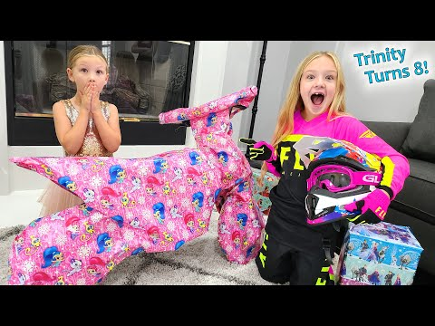 Trinity Gets Geared Up For Her 8th Birthday!!!