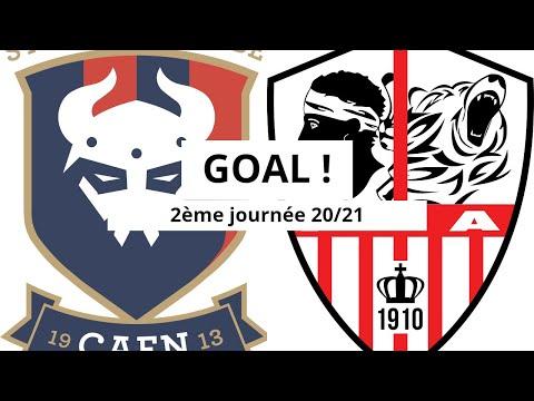 Caen AC Ajaccio Goals And Highlights