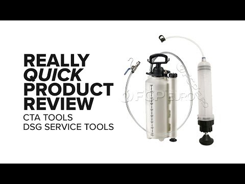 CTA DSG Service Tools - Really Quick Product Review