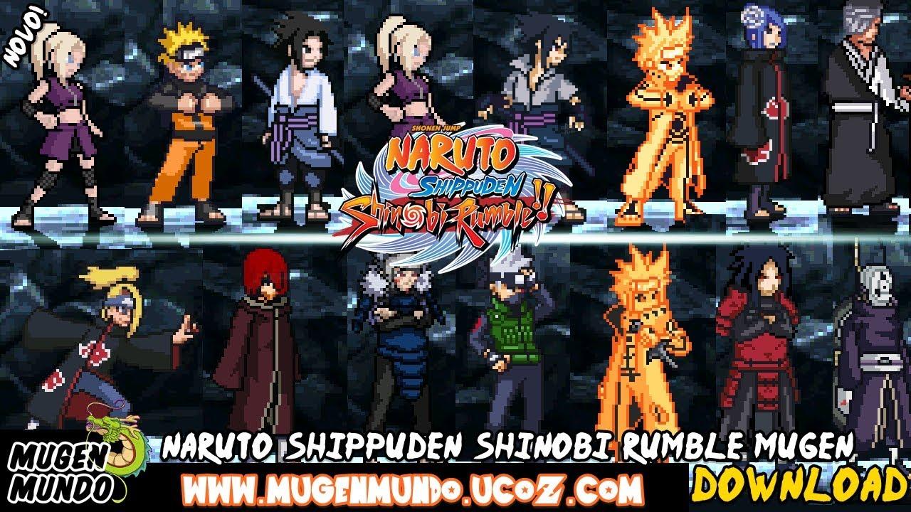 Naruto Shippuden Shinobi Rumble Generations Naruto Sasuke Itachi Madara Kurama Download Youtube