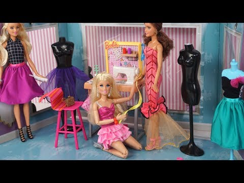 Barbie Doll New Fashion House Toy - Barbie Dress up Game For Kids