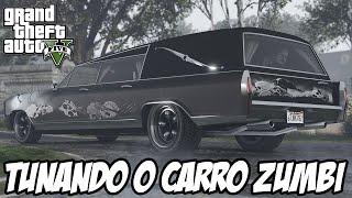GTA 5 - Tunando o CARRO ZUMBI Albany Lurcher CARRO NOVO DLC HALLOWEEN