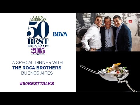 A special dinner with the Roca brothers