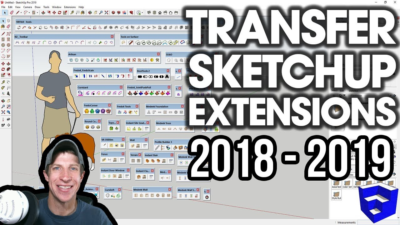 Transferring Extensions from SketchUp 2018 to SketchUp 2019