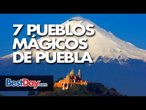 7 Pueblos Mágicos De Puebla