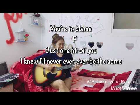 NEVER BE THE SAME By Camila Cabello - CHORDS & LYRICS - Cover