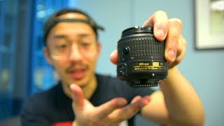 Nikon 18-55mm VR II Kit Lens Review (Nikon AF-P or AF-S Lens?)
