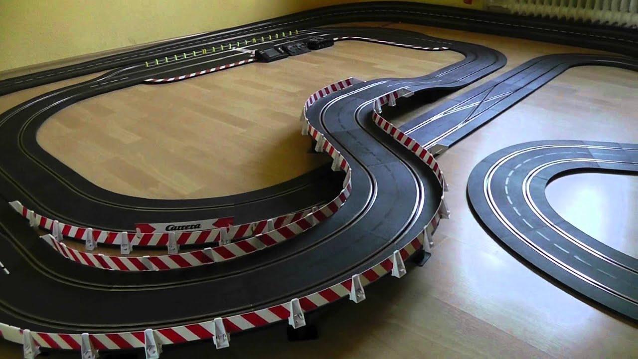 carrera bahn zimmer racing 21 50 meter lang battle mit. Black Bedroom Furniture Sets. Home Design Ideas