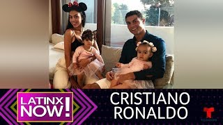Mira cómo se arrullan los hijos de Cristiano Ronaldo | Latinx Now! | Entretenimiento