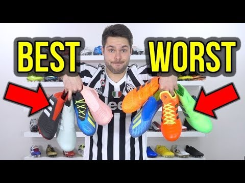 RANKING EVERY ADIDAS FOOTBALL BOOT FROM BEST TO WORST!