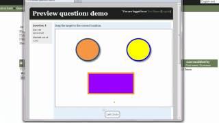 Comment Créer une Question à l'Aide du Glisser-Déposer avec les Marqueurs de Type de Question dans Moodle 2.1+