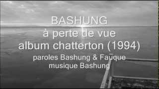 Bashung - à perte de vue (album