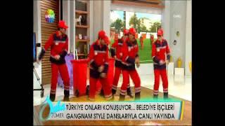 Saba Tümerin programında Gangam Show