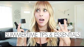 Must Have Summer Beauty Essentials & Tips | Summer Saldana