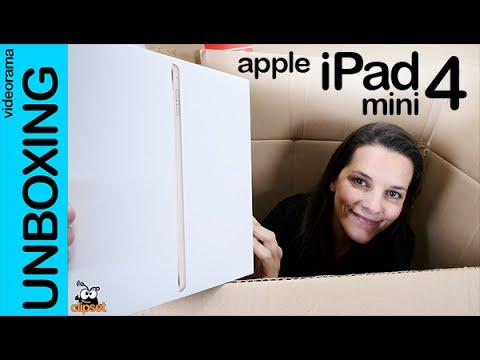 Apple iPad mini 4 unboxing en español