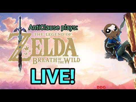 Breath of the Wild - Divine Beast Vah Medoh -AntiClause Plays LIVE!