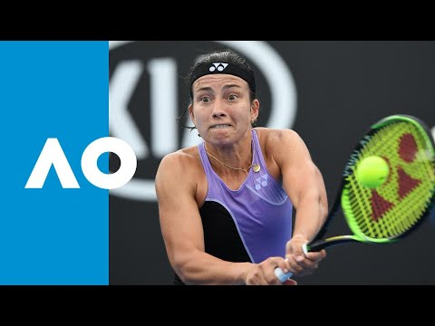 Bianca Andreescu v Anastasija Sevastova match highlights (2R) | Australian Open 2019