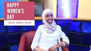 WEEKLY VLOG: Meetings and Women's Day at The Trend with Amina Abdi