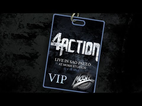 Gravação do novo DVD - Live in São Paulo at Mosh Studios