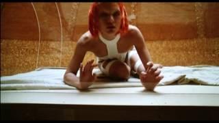 The Fifth Element Milla Jovovich Costume Fitting