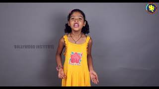 Cute Acting Audition By Aarohi | Bollywood Institute | Acting Practice | Acting Tips