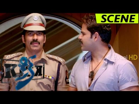 Ravi Teja Steals Party Election Fund - Thrilling Climax Robbery Scene - Kick Movie Scenes