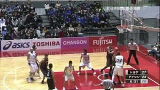 全日本総合バスケットボール選手権 男子決勝 トヨタvsアイシン