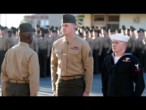 Bronze Stars Awarded To 1st LAR Marine And Sailor