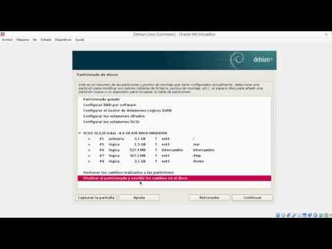 Instalacion Debian GNU/Linux - GNU/Hurd