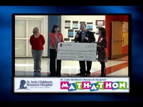 Overpark Elementary School - Mathathon for St Jude