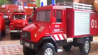 Пожежні Віс-294611, Mercedes, ГАЗ-53АЦ-30, Зіли-130 АЦ-30 і АЦ-40 від Лелеки і DeAgostini частина 1