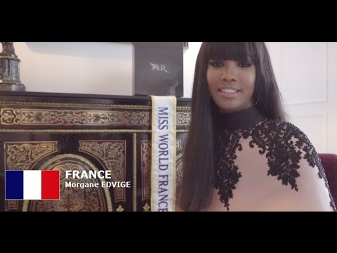 FRANCE - Morgane EDVIGE- Contestant Introduction: Miss World 2016