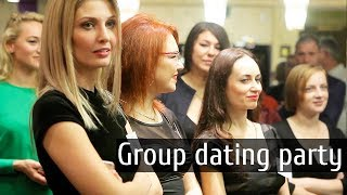 Meet over 100 Beautiful Ukrainian brides during one evening at a group dating party