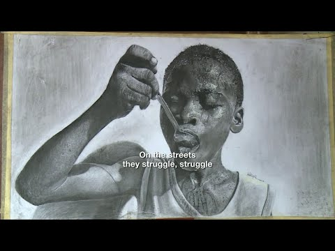 11-year-old Nigerian artist surprises art world with hyperrealistic drawings