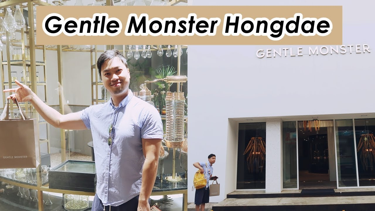 0919df20a6 Gentle Monster Luxury Sunglasses in Seoul 😎 - YouTube