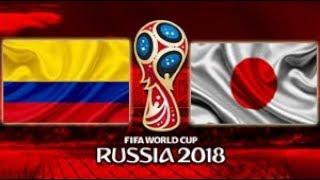 Colômbia vs Japão - Goals & Highlights - World Cup Russia 2018