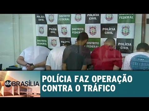 Polícia faz operação pesada contra o tráfico de drogas