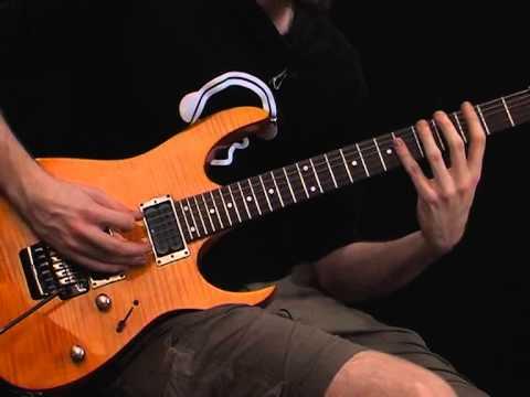 advanced metal guitar riff in drop c tuning rhythm guitar lesson youtube. Black Bedroom Furniture Sets. Home Design Ideas