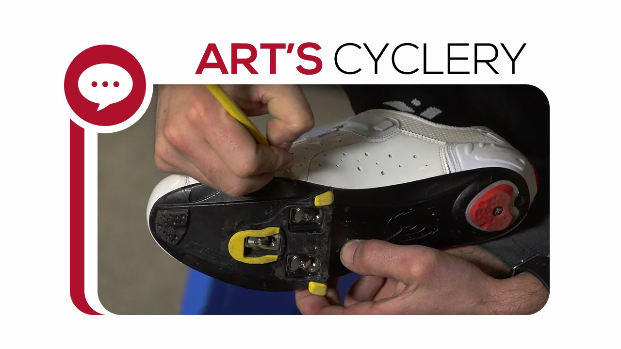 1f92c3dbbe4 Ask a Mechanic  Cleat Positioning on New Shoes - YouTube