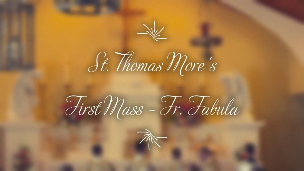 Fr  Samuel Fabula - Solemn First Mass in Sanford, FL