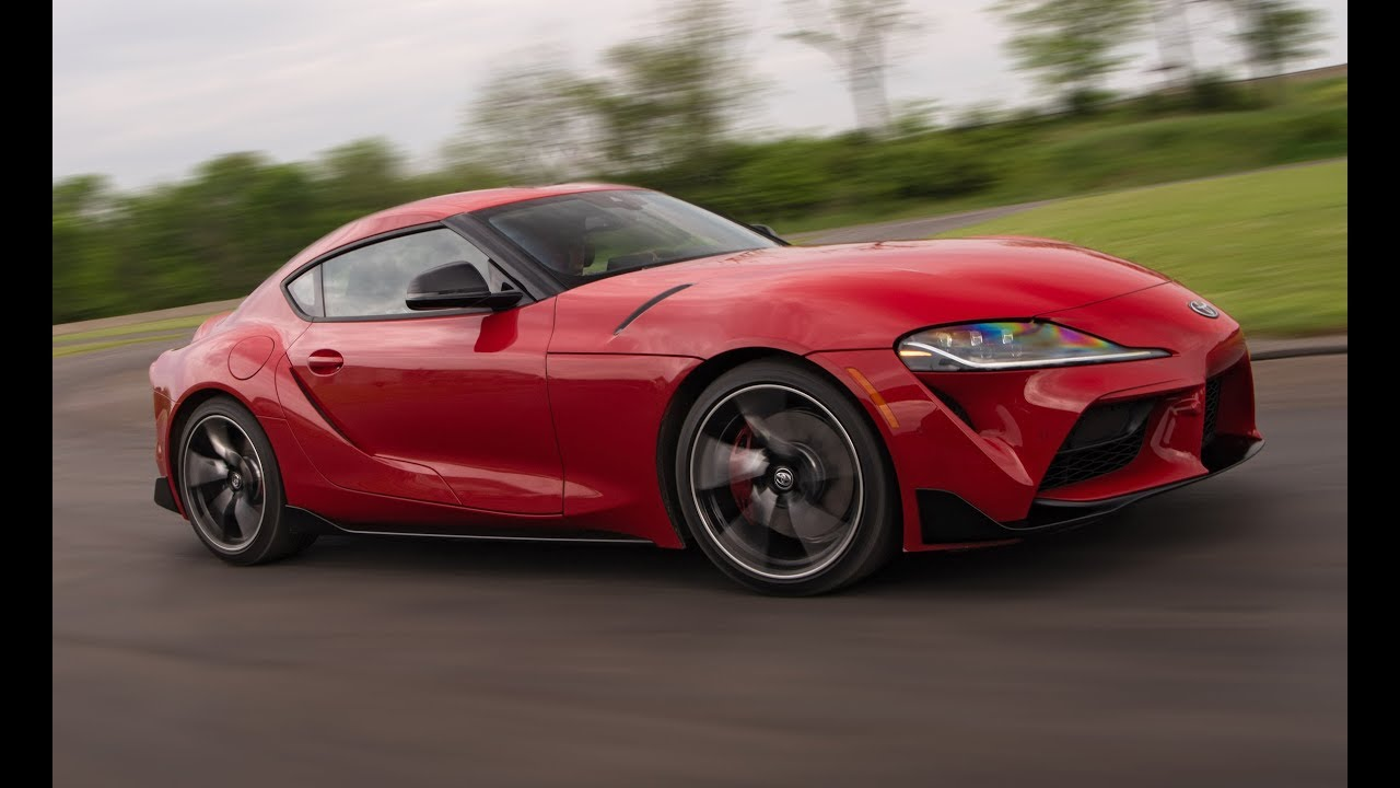 2020 Toyota GR Supra - Just the Noise