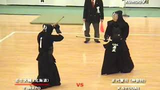 2008 Final Shodai Kenji (56th All Japan Kendo Championship)