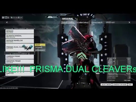 Warframe -How to kill fast high level enemy[level 90+and up](outdated)|#buildshare