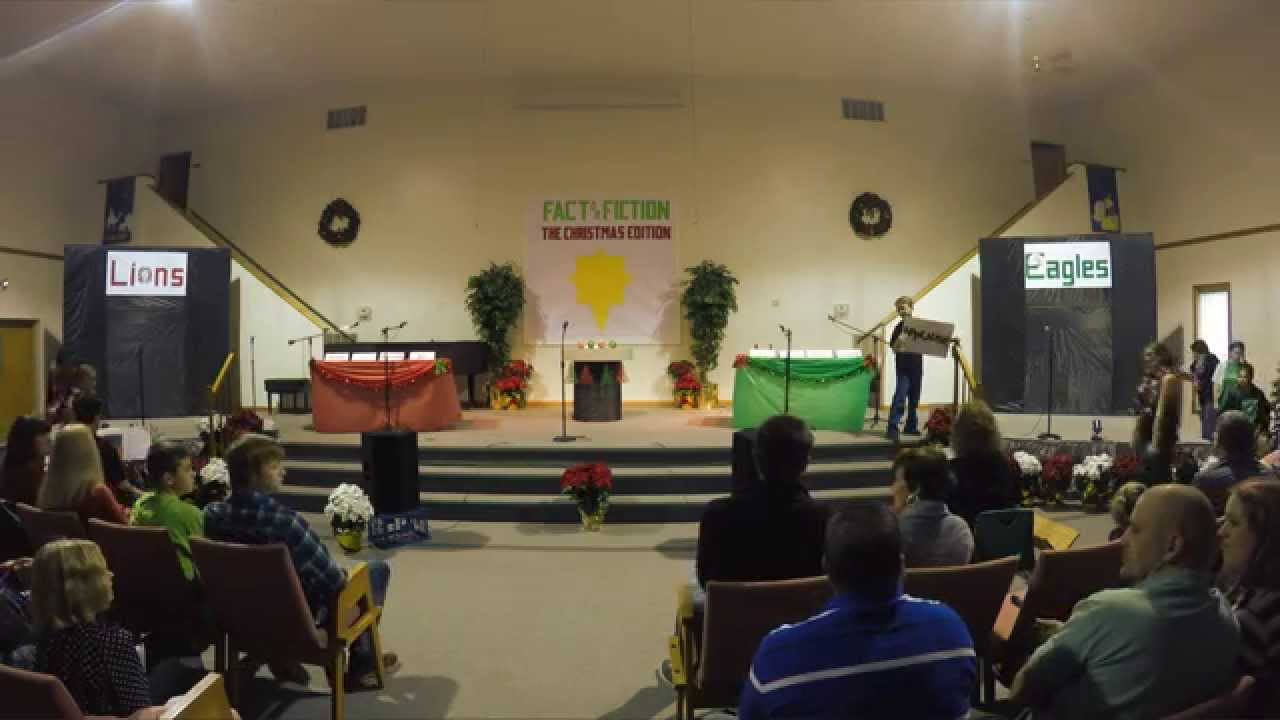 Freedom Baptist Church Youth Christmas Play- 2014 - YouTube