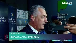 La autocrítica de Alfaro tras Boca-Almagro:
