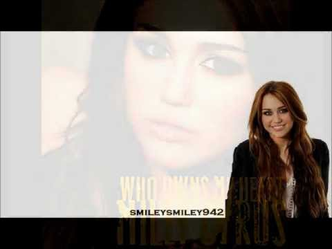 Miley Cyrus Who owns my Heart Lyrics