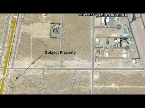 2.73 acres commercial land (close to Airport) for sale near Las Vegas in Pahrump, NV