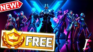 NEW Fortnite Season 10 Gifting+FREE BattlePass Giveaway for Subscribers ONLY