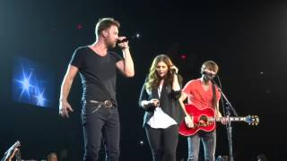 Lady Antebellum Medley Ontario Ca Citizens Business Bank Arena 3/15/2014