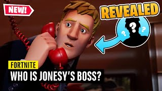Fortnite | Who is Jonesy's Boss and IO Leader?